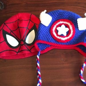 Kid's beanies - two pack